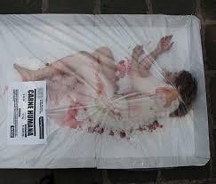 """Dieses Bild wurde anlässlich der Veranstaltung """"día sin carne"""" in Barcelona aufgenommen."""
